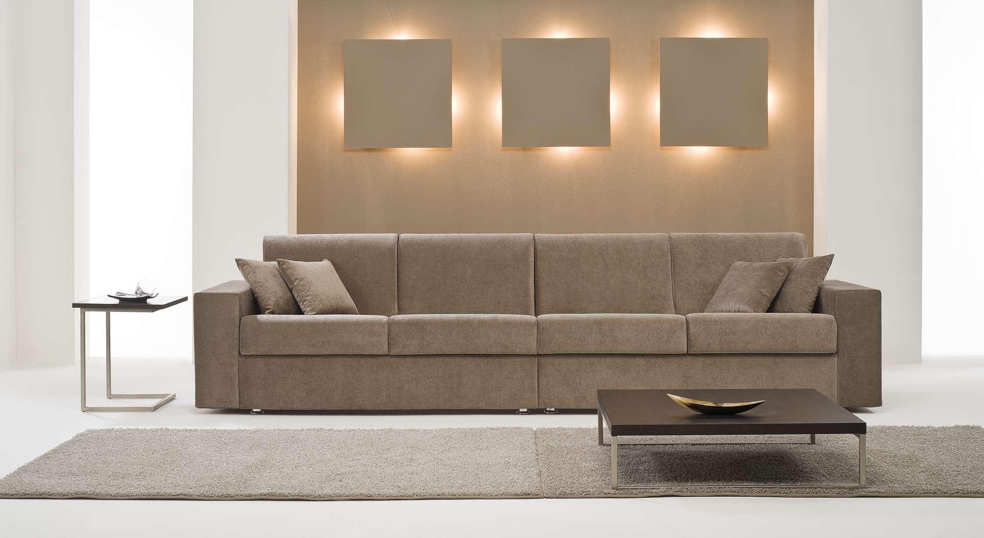 Dream divani letto con chaise longue collezione moderni for Divani moderni con chaise longue
