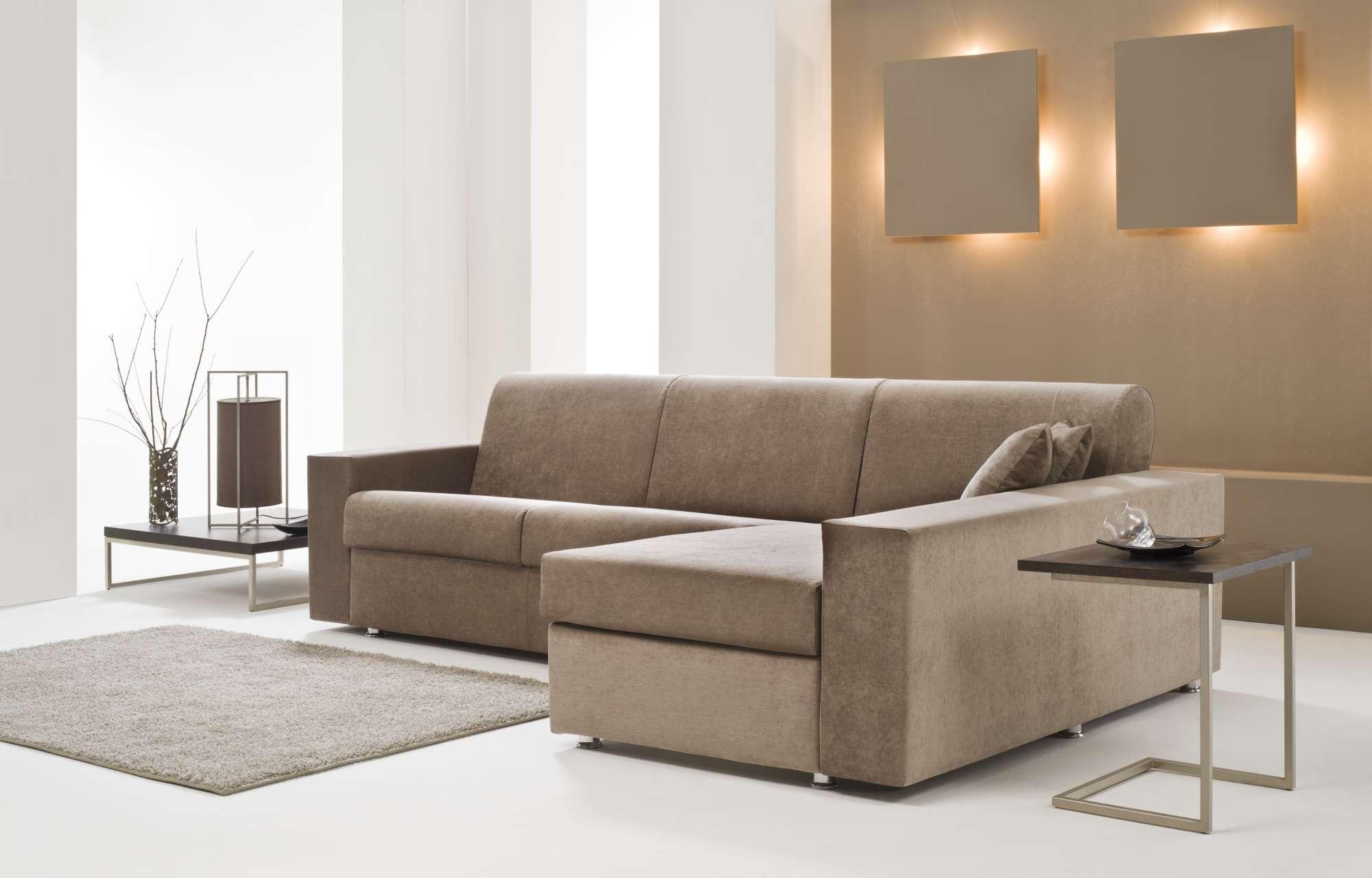 Dream divani letto con chaise longue collezione moderni - Divani stretti e lunghi ...