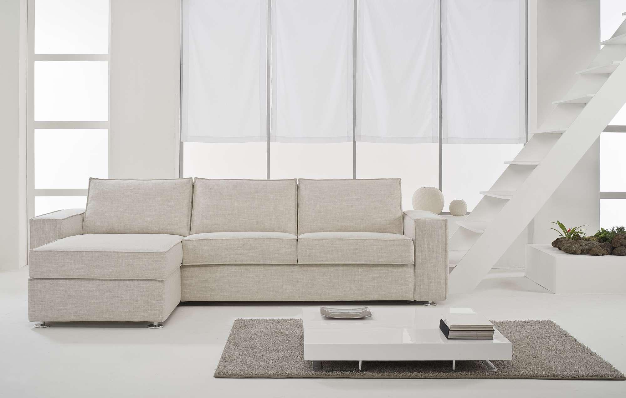 Lee divani letto con chaise longue collezione moderni - Divani letto chaise longue ...