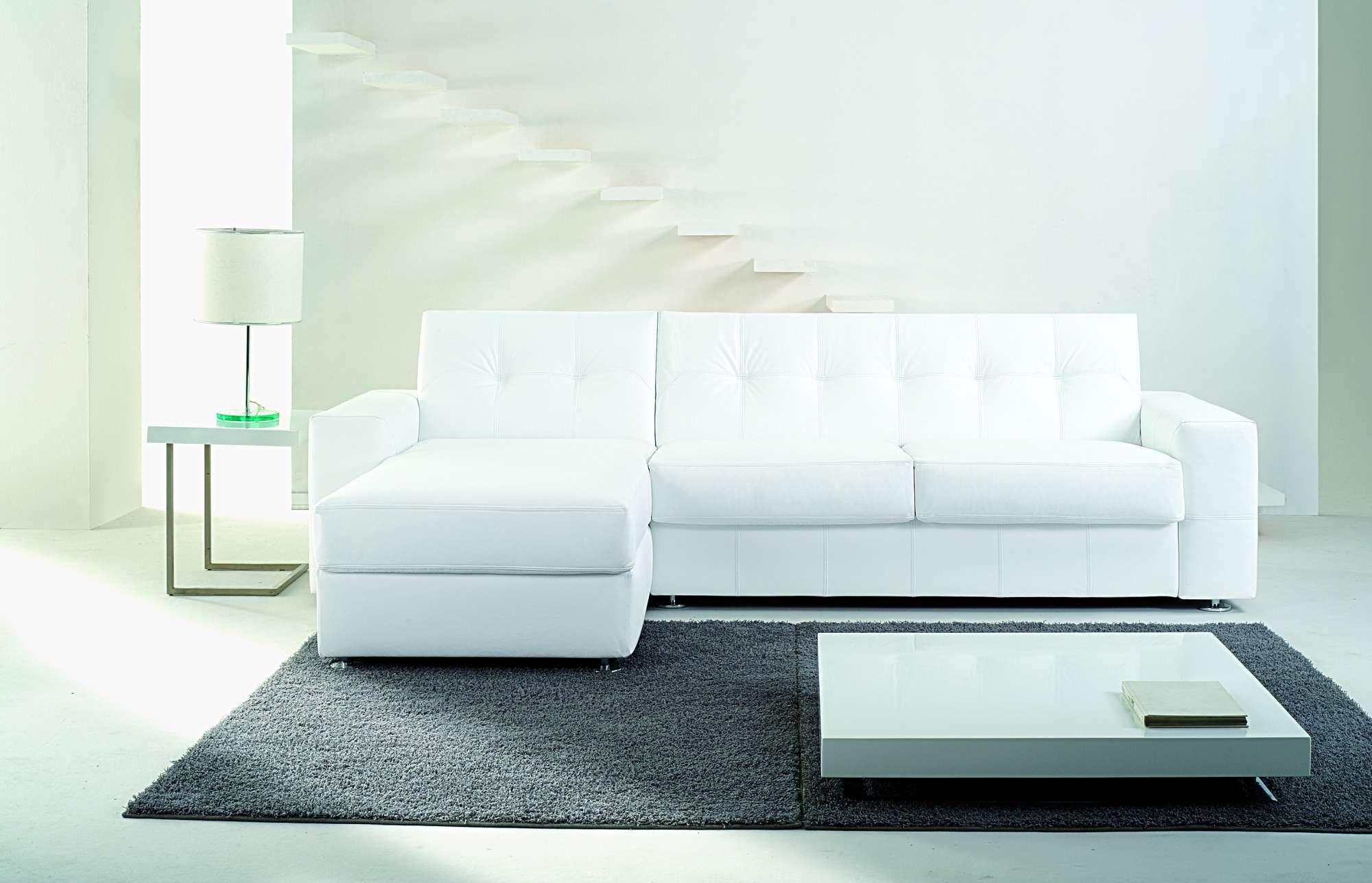 One divani letto con chaise longue collezione moderni - Divani letto chaise longue ...