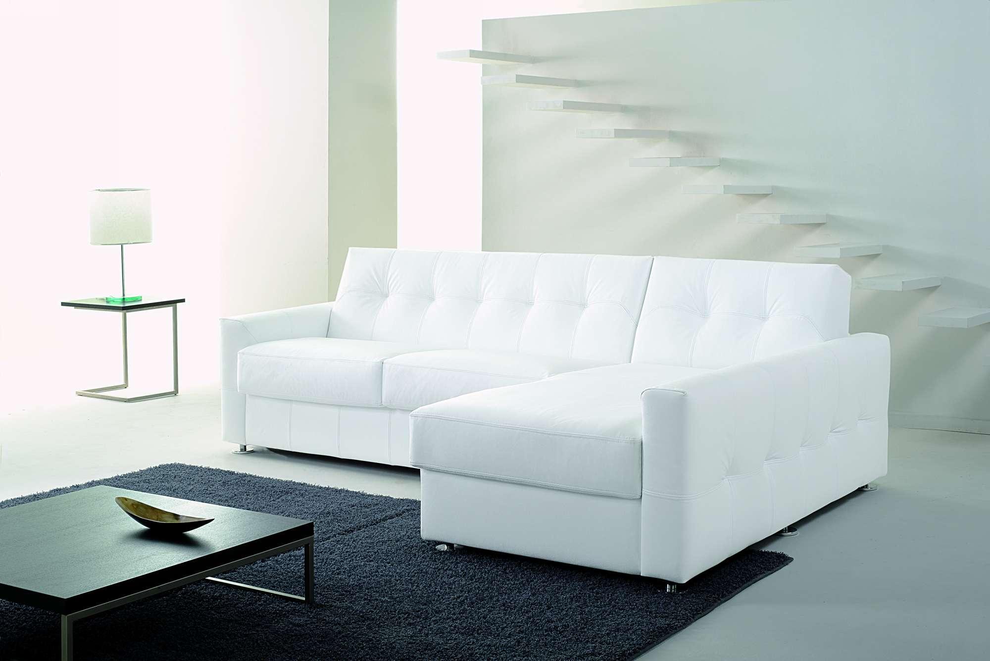 One divani letto con chaise longue collezione moderni - Divani stretti e lunghi ...