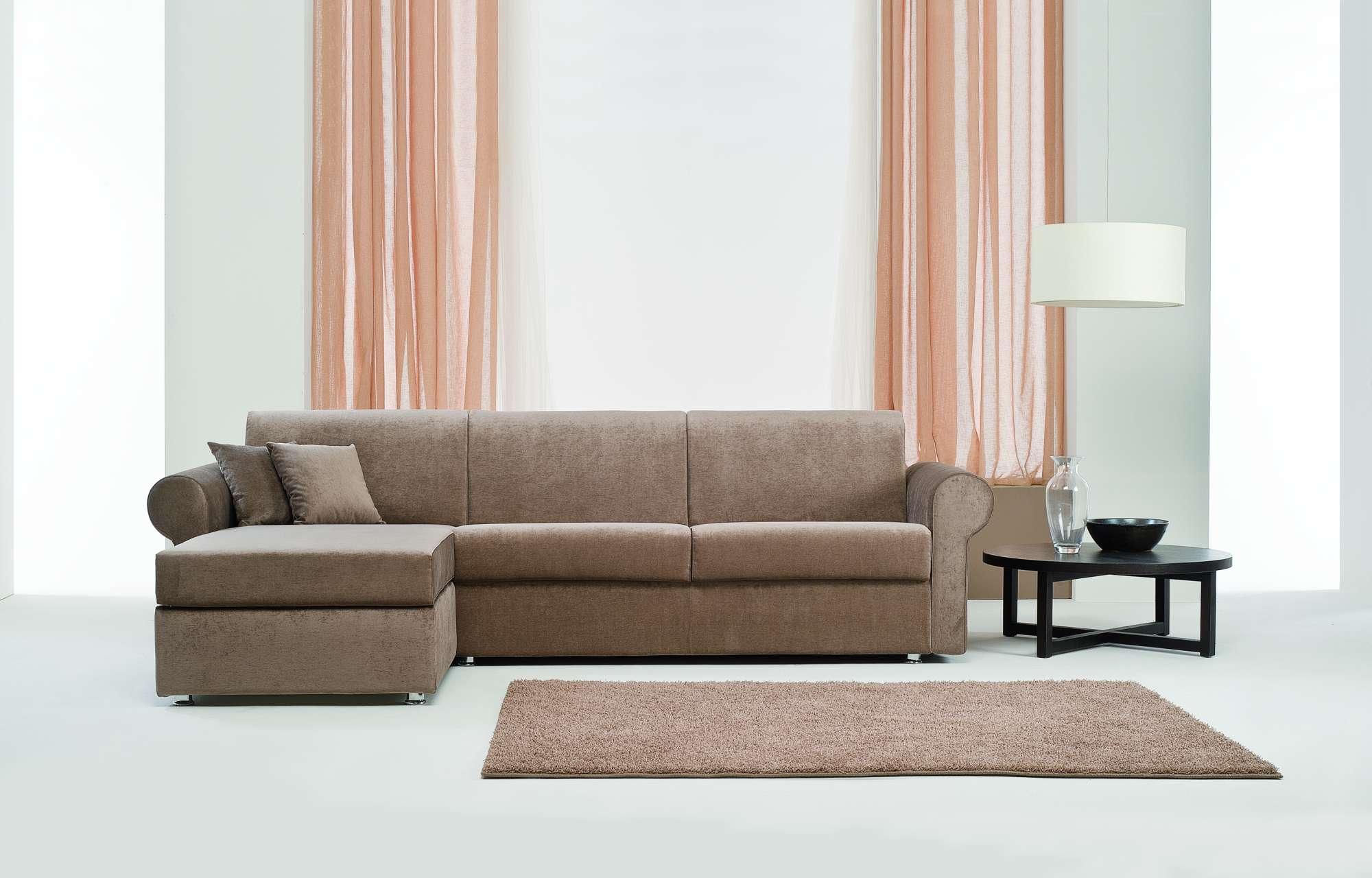 Sinfony divani letto con chaise longue collezione moderni - Divani letto con chaise longue ...