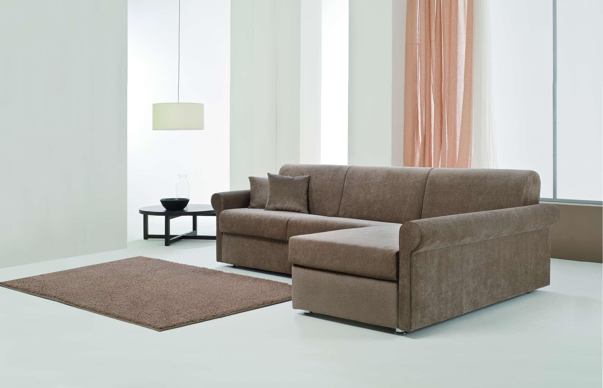 Sinfony divani letto con chaise longue collezione moderni - Divani letto chaise longue ...