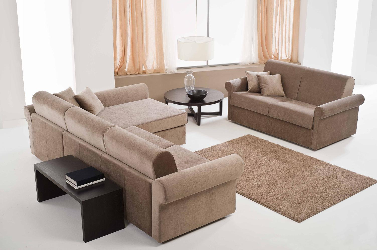 Componibili con chaise longue emporiodivani sedute - Divani letto chaise longue ...