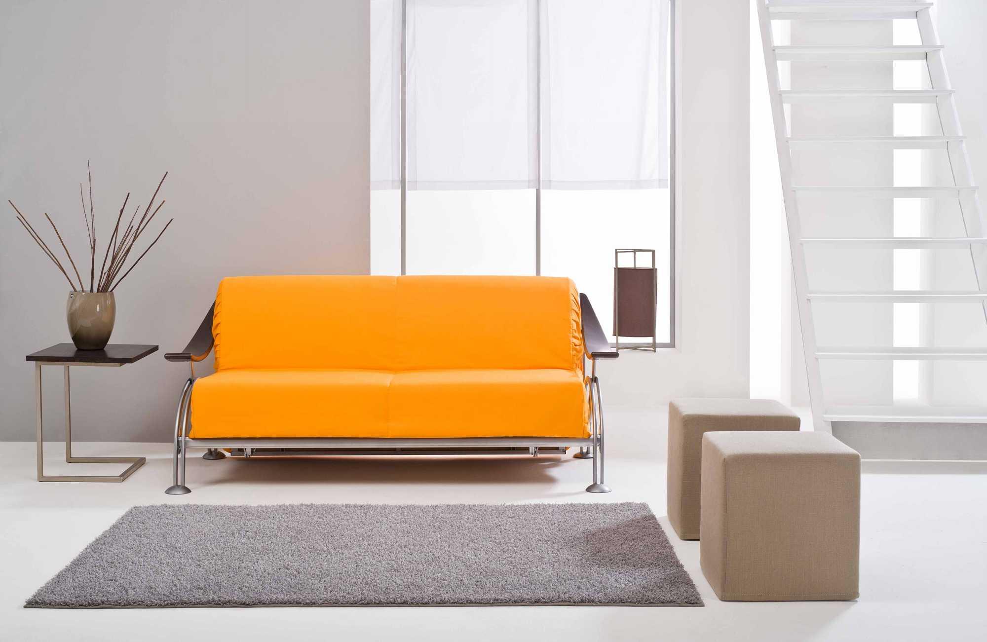 Slalom divani letto estensibili collezione design - Divano letto senza braccioli ...